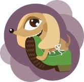 gnaga för kängahund vektor illustrationer