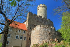 Gnandstein castle Royalty Free Stock Photography