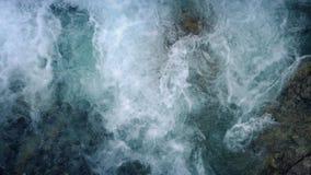 Gnanie Halna rzeka Od Above zdjęcie wideo