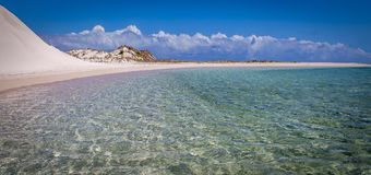 Gnaraloo海湾 库存图片