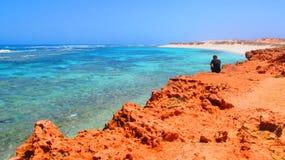 Gnaraloopost, Westelijk Australië royalty-vrije stock fotografie