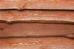 Gnarled old boards. Old  board closeup - brown background Royalty Free Stock Photography
