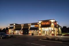 GNC-Vitamin-Nahrungs-Speicher lizenzfreie stockfotografie