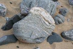 Gneiss di Lewisian Fotografia Stock
