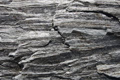 Gneiss rock. Metamorphic rock background - gneiss texture in New Zealand Stock Photography