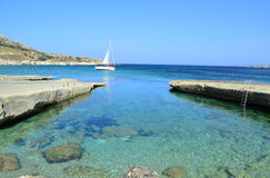 Gnejna Bay - Malta Stock Photo