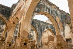 Gnić ruiny na Chellah Necropolis zdjęcie stock