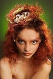 Gniazdowa fryzura Fotografia Stock