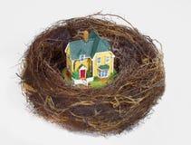 GNIAZDOWEGO jajka oszczędzania funduszu emerytalnego bogactwa PIENIĘŻNY planowanie Obraz Royalty Free