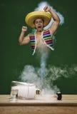 Génie mexicain Photo stock