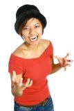 gniew doświadcza kobiety Obraz Royalty Free
