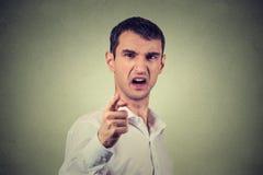 gniew faceta Zdjęcie Stock