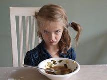 gniewna dziewczyna Zdjęcia Royalty Free