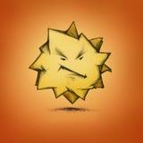 Gniewna gwiazda Zdjęcie Stock