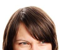 gniewna kobieta Zdjęcia Stock