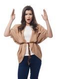 Gniewna kobieta Zdjęcie Royalty Free