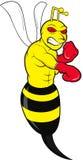 Gniewna pszczoła Fotografia Stock