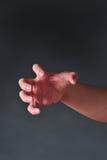gniewna ręka Fotografia Stock