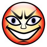 Gniewna twarz Zdjęcie Stock