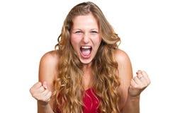 Gniewne kobiety Obraz Stock