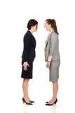 Gniewni businesswomans krzyczy przy each inny Obraz Royalty Free