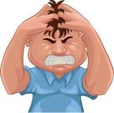 gniewny Zdjęcie Stock