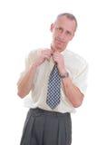 gniewny biznesowy mężczyzna Obraz Royalty Free