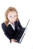 Gniewny bizneswoman Fotografia Stock