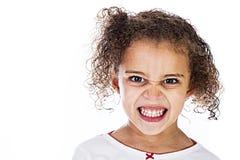 Gniewny dzieciak Obrazy Stock