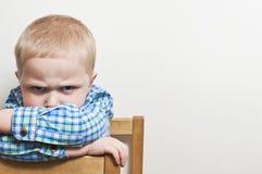 Gniewny dziecko obrazy royalty free