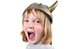 gniewny dziecko Viking Zdjęcia Royalty Free