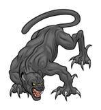 Gniewny dziki kot Zdjęcie Stock
