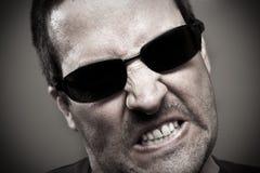 Gniewny, gniewny facet, Obraz Stock