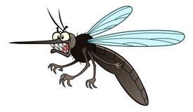 Gniewny komar ilustracji