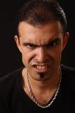 gniewny mężczyzna obraz stock