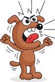Gniewny pies Zdjęcie Stock