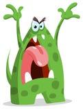 gniewny potwór royalty ilustracja