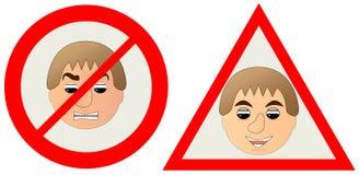 gniewny target1536_0_ t wykładowcy utrzymaniem jest ilustracja wektor