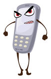 Gniewny telefon Fotografia Stock