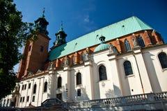 gniezno собора базилики Стоковое Изображение