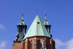 Gniezno, cathedral Stock Photography