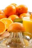gniosąca sok świeża pomarańcze Fotografia Stock