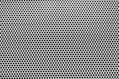 Gnisslande texturbakgrund för aluminium holes metallplattan arkivfoto