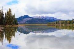 Gnista central Oregon för sjö vildmark Royaltyfria Bilder