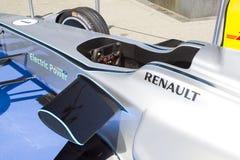 Gnista Renault SRT 01E för formel E Arkivfoto