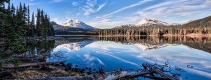 Gnistor sjö, Oregon Royaltyfri Bild