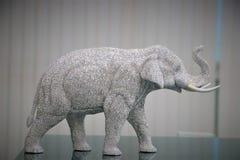Gnistrande av elefanten Thailand royaltyfria foton