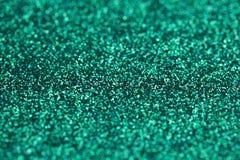 Gnistrandet för turkosgräsplanblått blänker bakgrund Ferie jul, valentin, skönhet och spikar abstrakt textur Arkivbild