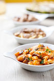 Gnocchi в блюде стоковая фотография rf