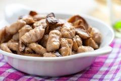 Gnocchi в блюде Стоковое Изображение